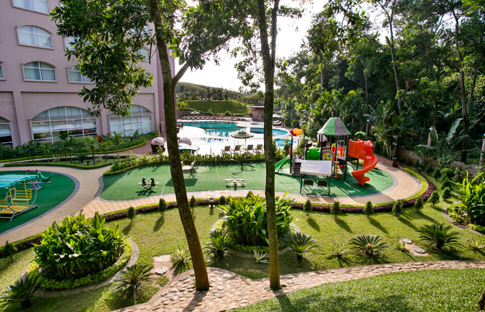 children playzone at grand sultan